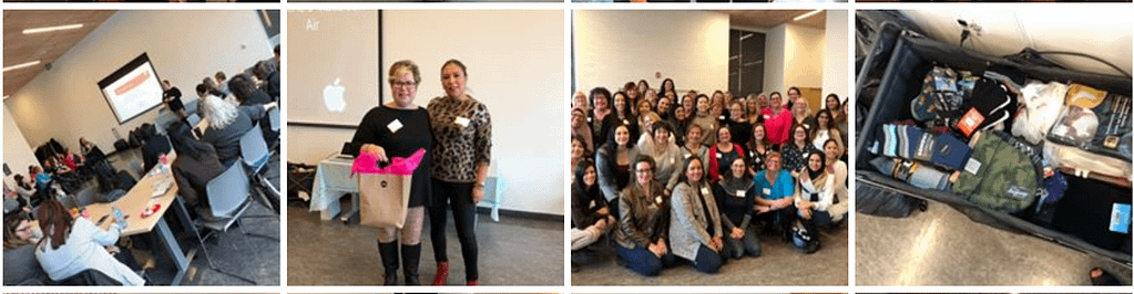MAWB Meet Ups are filled with laughter, connection and education to help empower business women.