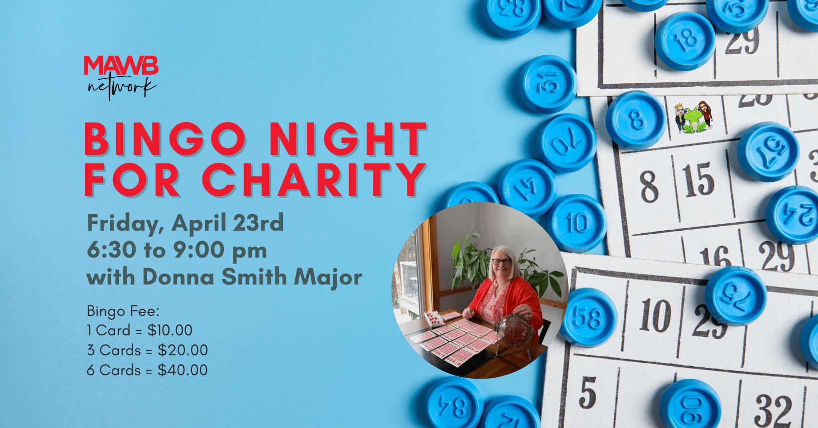MAWB Events - Bingo Night - April 23
