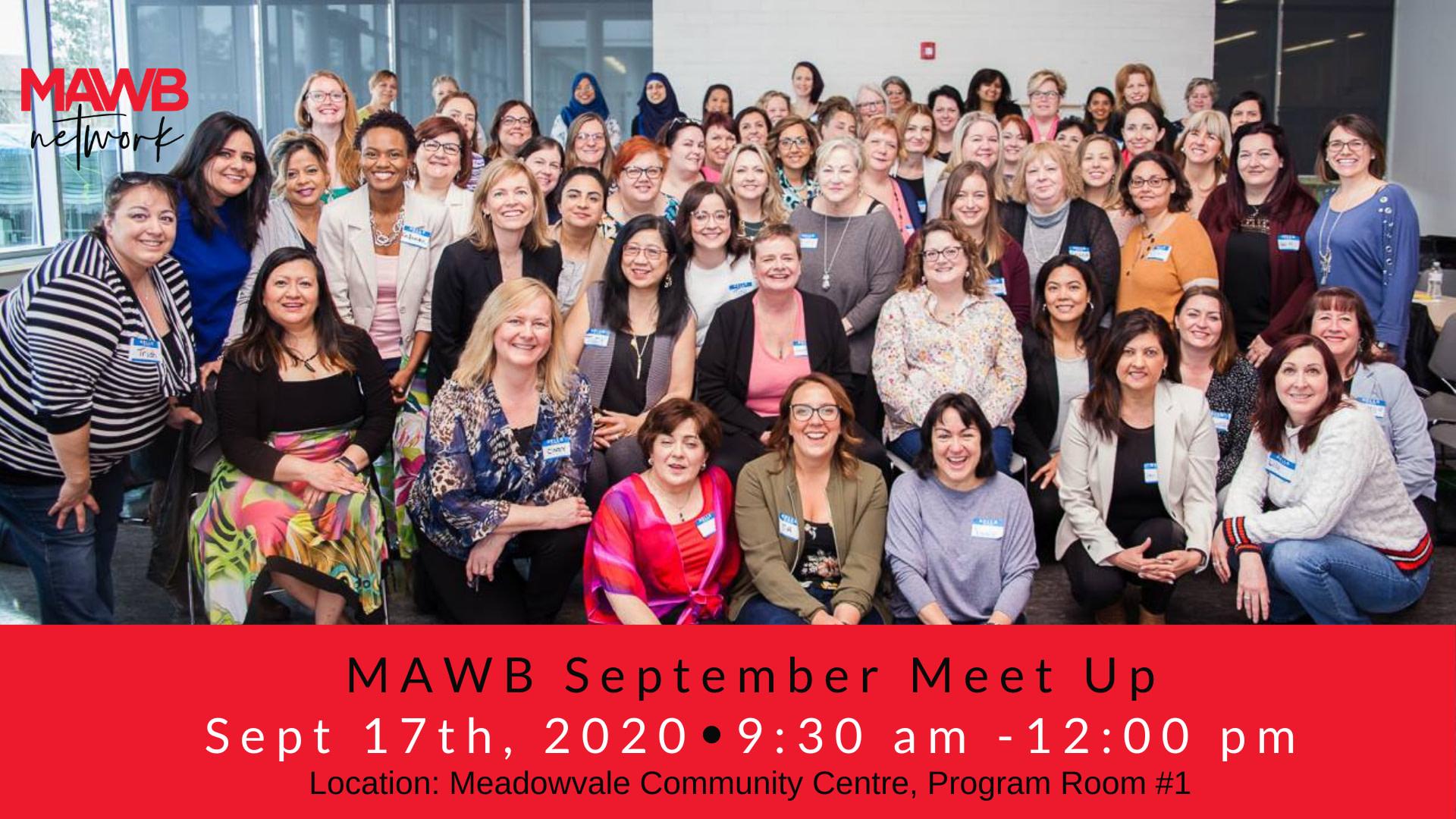 MAWB September Meet Up in Mississauga