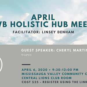 April 6 - Holistic Hub Meet Up