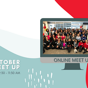 Invitation to attend the Mississauga and Area Women in Business October MAWB Meet Up