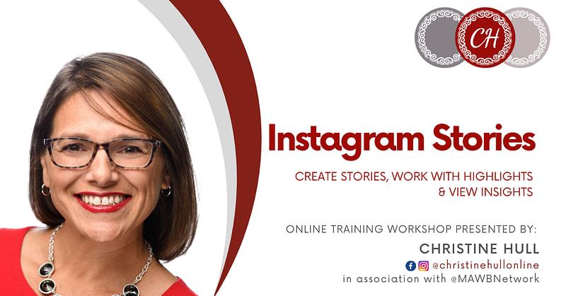 Instagram Stories, Highlights & Insights Training Workshop