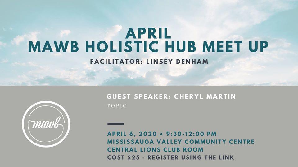 April 6 - Holistic Hub Meet Up
